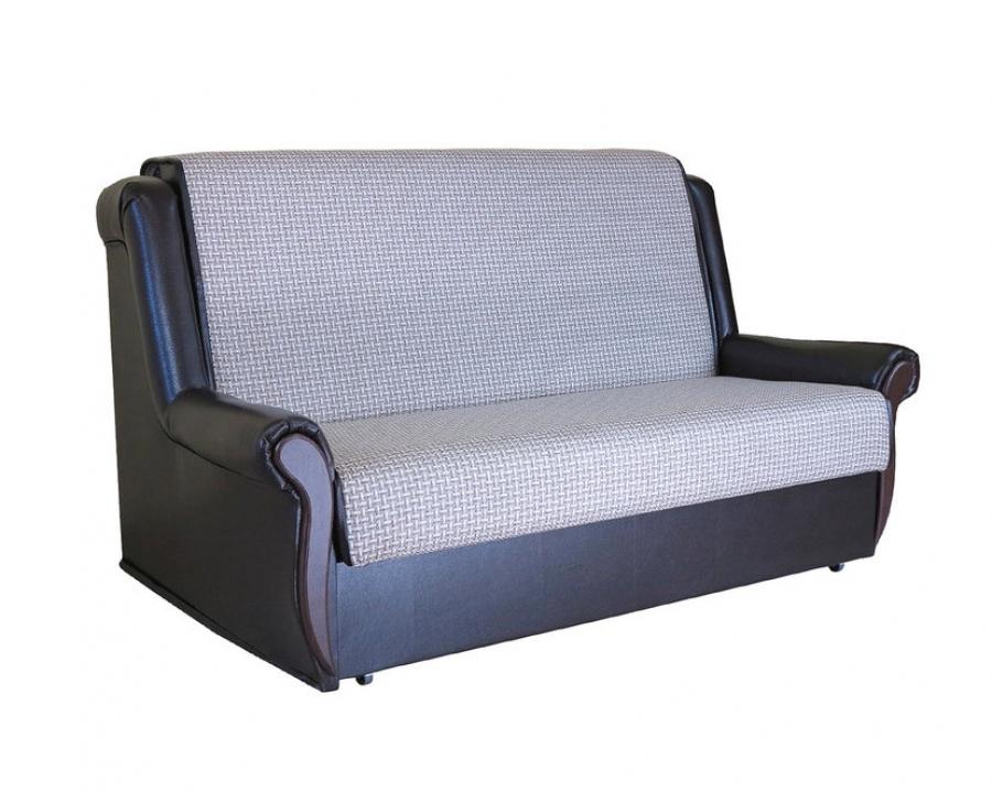 Диван-кровать «Аккорд М» 100 замша беж