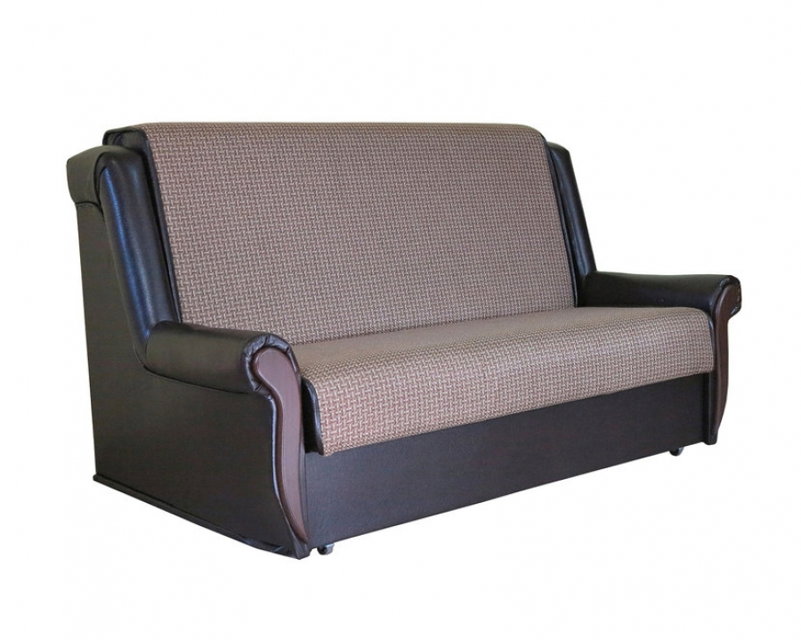 Диван-кровать «Аккорд М» 100 Корфу коричневый
