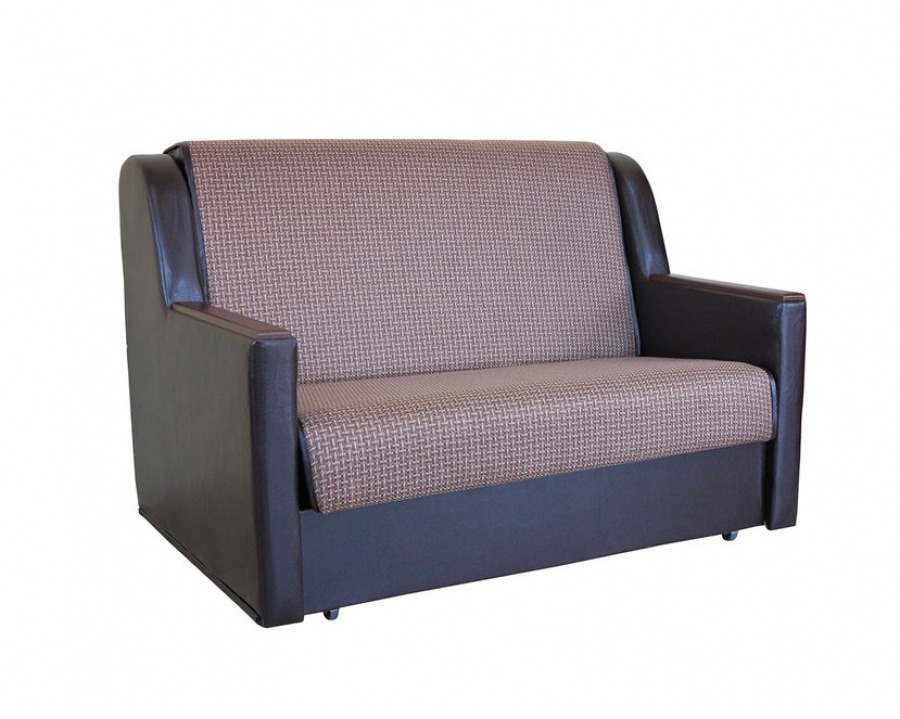 Диван-кровать «Аккорд Д» 100 Корфу коричневый