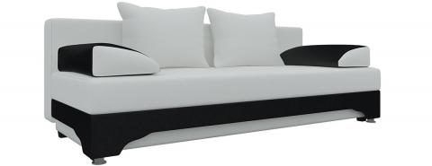 Еврокнижка Ник-2 - Экокожа Белый+Черный