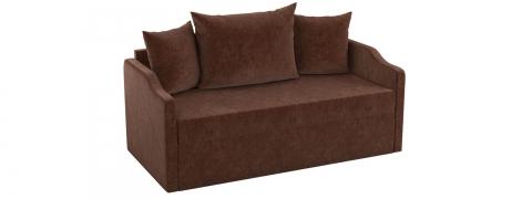 Детский выкатной диван Дороти - Вельвет коричневый