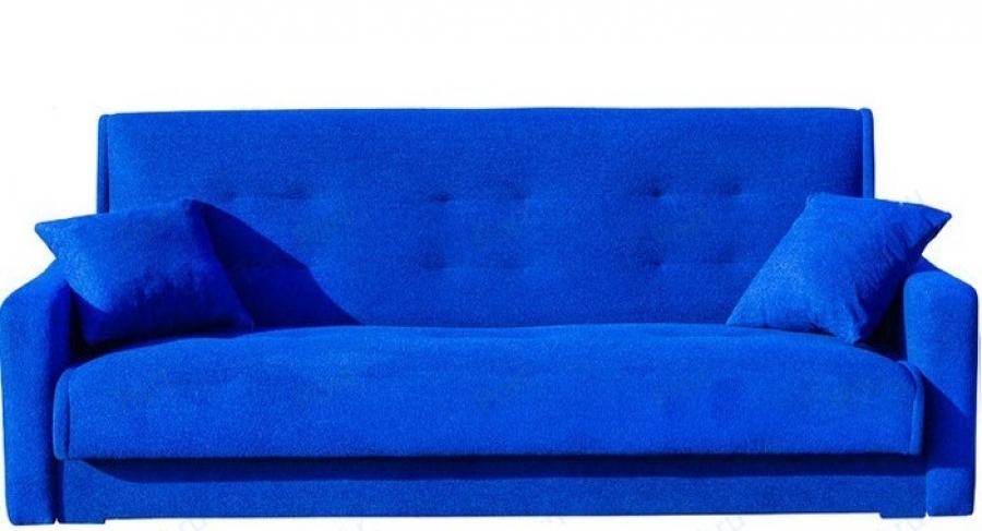 Диван прямой Мадрид книжка синий